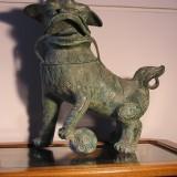 Bronze Fu Dog Figurines
