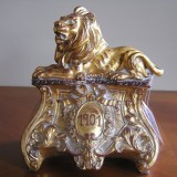 Golden Lion Bookend