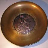 Venus and Eros antique bronze decorative
