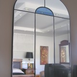 Top rounded mirror