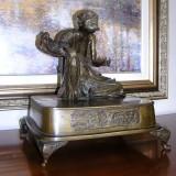Bronze figurine - Old man