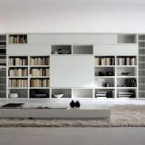 Σύνθεση τοίχου - βιβλιοθήκη